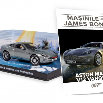 James Bond - Editia Nr. 13 - Aston Martin v12 Vanquish (Die Another Day)
