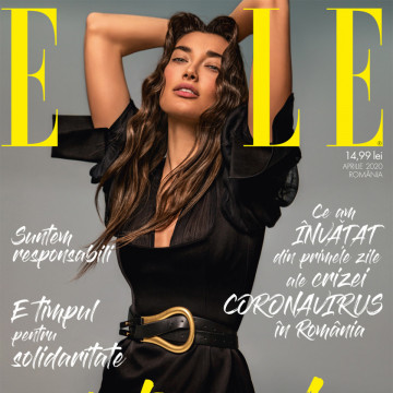 Revista ELLE - editia aprilie 2020