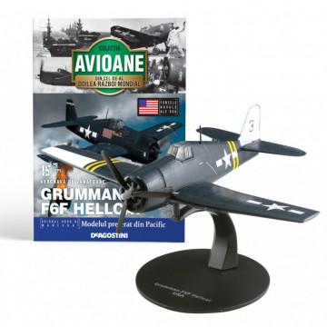 Editia nr. 15 - Avion Fortele Navale Americane Grumman F6F Hellcat