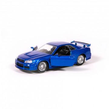 Editia nr. 08 - BRIAN'S NISSAN SKYLINE GT-R (R34) (Fast&Furious)