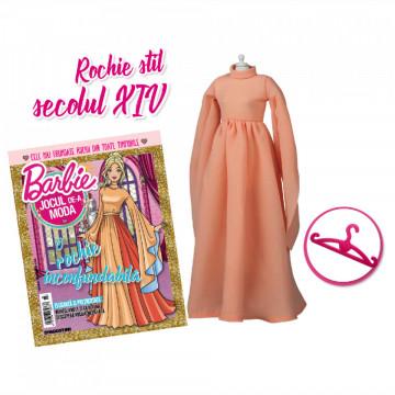Editia nr. 23 - Rochie stil sec XIV (Barbie, jocul de-a moda)
