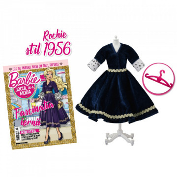 Editia nr. 25 - Rochie stil anii 1956 (Barbie, jocul de-a moda)
