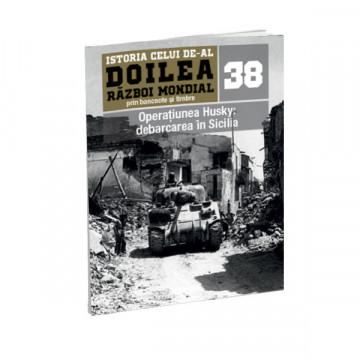 Editia nr. 38 - Operatiunea Husky: debarcarea in Sicilia (doua bancnote si patru timbre)