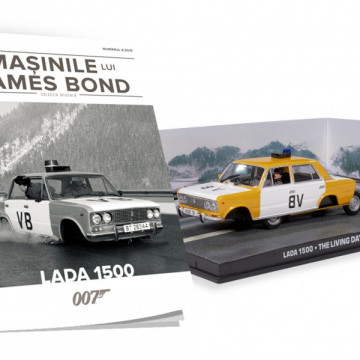 James Bond - Editia Nr. 04 - Lada 1500 (The Living Daylights)