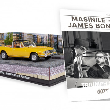 James Bond - Editia Nr. 14 - Triumph Stag (Diamonds are forever)