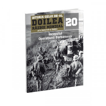 Editia nr. 20 - Inceputul Operatiunii Barbarossa (doua bancnote, opt timbre)