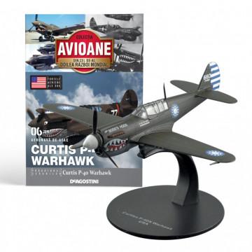 Editia nr. 06 - Avion Fortele Aeriene SUA Curtiss P-40 Warhawk