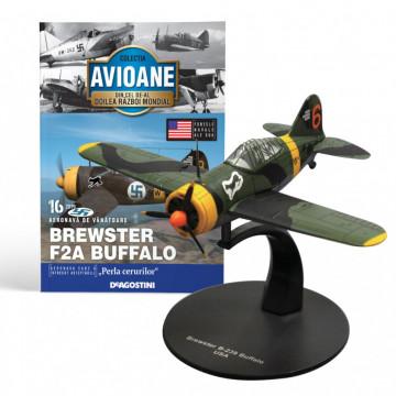 Editia nr. 16 - Avion Fortele Navale SUA Brewster F2A Buffalo