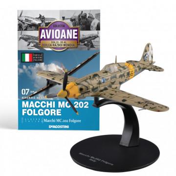 Editia nr. 07 - Avion Fortele Aeriene Italiene Macchi MC.202 Folgore