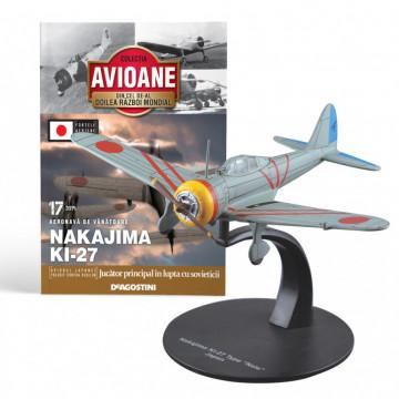 Editia nr. 17 - Avion Fortele Armate Japoneze Nakajima Ki-27