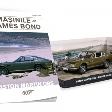 Editia nr. 06 - Aston Martin DBS (On Her Majesty's Secret Service)