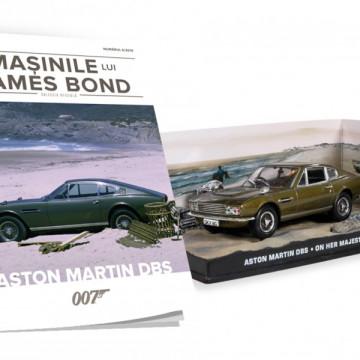 Editia nr. 06 - Aston Martin DBS (On Her Majesty's Secret Service)