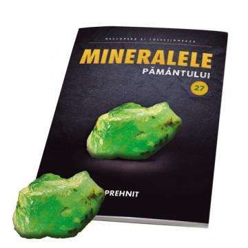 Editia nr. 27 - Prehnit (Mineralele Pamantului)