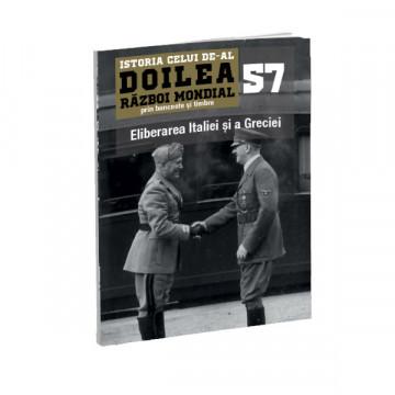 Editia nr. 57 - Eliberarea Italiei și a Greciei (doua bancnote si doua timbre)