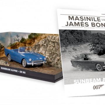 James Bond - Editia Nr. 16 - Sunbeam alpine (Dr No)