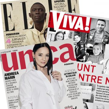 PACHET 3 REVISTE - UNICA + VIVA! + ELLE MAI 2020