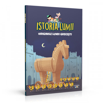 Editia nr. 04 - Originile lumii grecești (Istoria pentru copii)