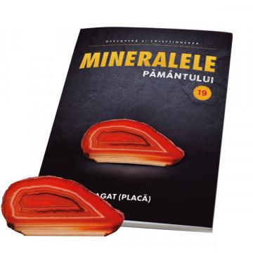 Editia nr. 19 - Agat (placa) (Mineralele Pamantului)