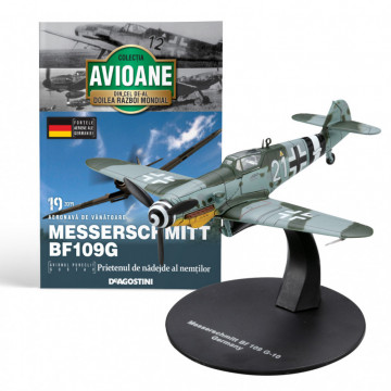 Editia nr. 19 - Avion Fortele Armate ale Germaniei Messerschmitt Bf109G