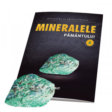 Editia nr. 06 - Fucsit (fucsit + revista) (Mineralele Pamantului)
