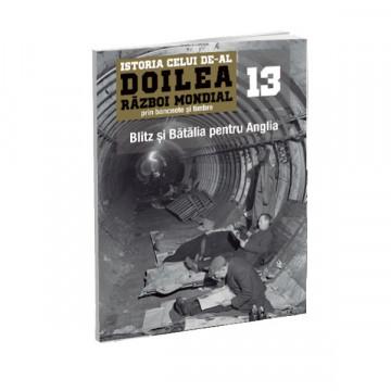 Editia nr. 13 - Blitz si Batalia pentru Anglia (doua bancnote si patru timbre)
