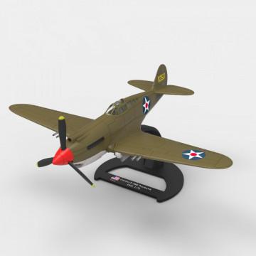 Editia nr. 14 - P-40B WARHAWK (Avioane din cel de-al Doilea Razboi Mondial)