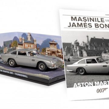 Editia nr. 18 - Aston Martin DBS (THUNDERBALL)
