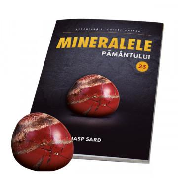 Editia nr. 23 - Jasp sard (Mineralele Pamantului)