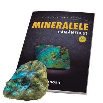 Editia nr. 34 - Labradorit slefuit (Mineralele Pamantului)