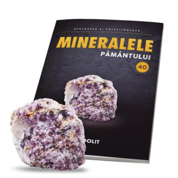 Editia nr. 40 - Lepidolit (Mineralele Pamantului)