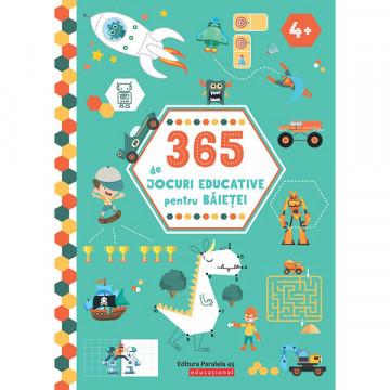 365 de jocuri educative pentru băieței