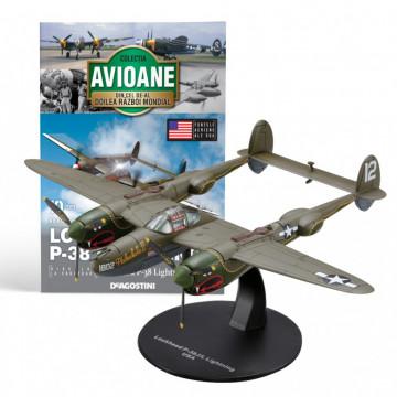 Editia nr. 10 - Avion Fortele Aeriene SUA Lockheed P-38 Lightning