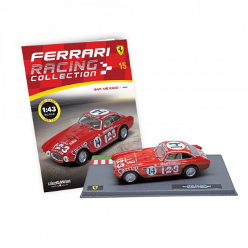 Editia nr 15 - Ferrari 340 Mexico Carrera Panamericana 1952 (Ferrari Racing)