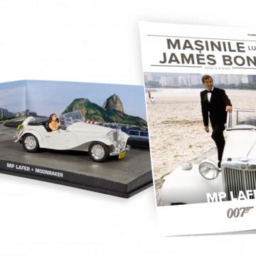 James Bond - Editia nr. 19 - MP LAFER (Moonraker)