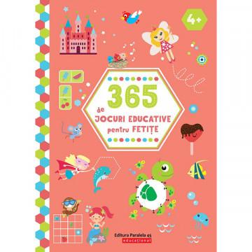 365 de jocuri educative pentru fetițe