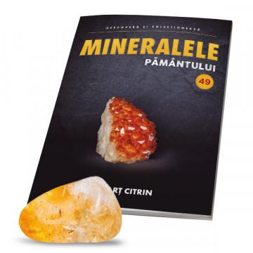 Editia nr. 49 - Cuart citrin (Mineralele Pamantului)