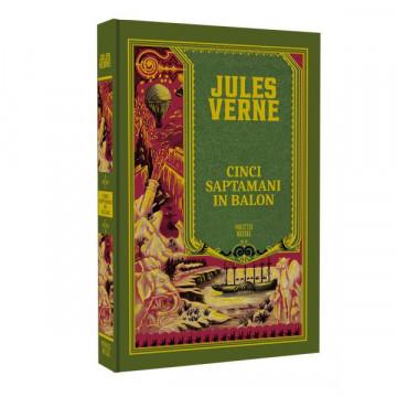 Jules Verne - Cinci săptămâni în balon - Ediția nr. 04