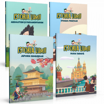 Precomanda Istoria pentru copii - Septembrie 2021