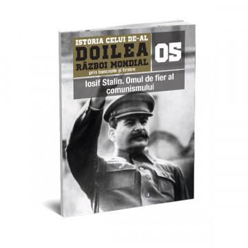 Editia nr. 05 - Iosif Stalin. Omul de fier al comunismului (doua bancnote, patru timbre, album pentru timbre)