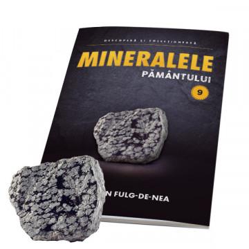 Editia nr. 09 - Obsidian Fulg-De-Nea (Mineralele Pamantului)