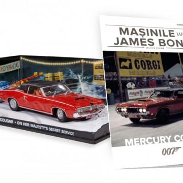 Editia nr. 11 - Mercury Cougar (On her Majesty's secret service)