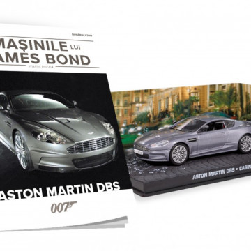 James Bond - Editia nr. 01 - Aston Martin DBS (CASINO ROYALE)