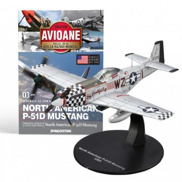 Editia nr. 03 - Avion Fortele Aeriene SUA North American P-51 Mustang