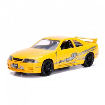 Editia nr. 39 - Leon's Nissan Skyline GT-R (BCNR33) (1995 Nissan GTR R33) (Fast&Furious)