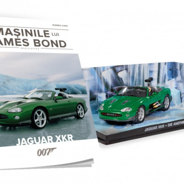 James Bond - Editia nr. 02 - Jaguar XKR (Die Another Day)