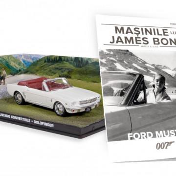 James Bond - Editia Nr. 12 - Ford Mustang Convertible (GoldFinger)