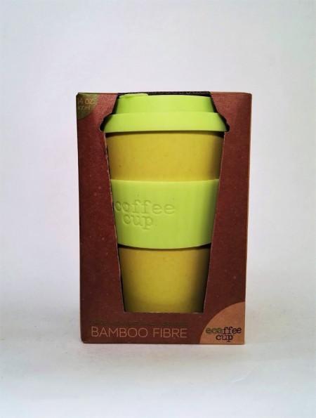 Ecocoffee Cup per bere caffè/tisane Gialla - Fior di Loto immagini
