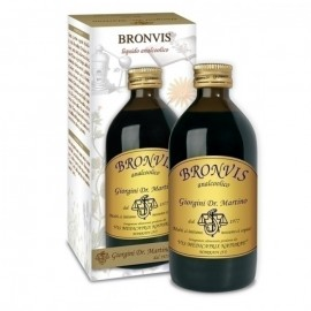 Fluido Bronvis per tosse - Dr. Giorgini immagini