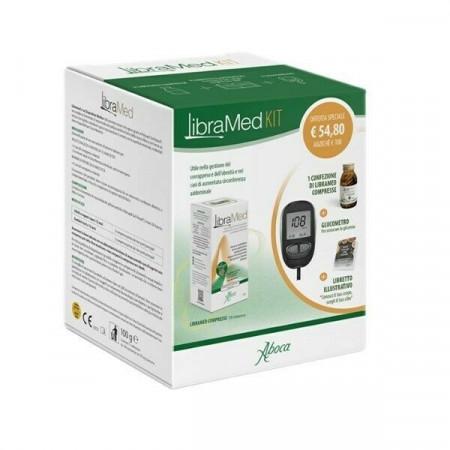 Kit Compresse Libramed con Glucometro per il controllo del peso - Aboca immagini