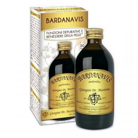 Liquido Bardanavis per la depurazione della pelle - Dr Giorgini immagini